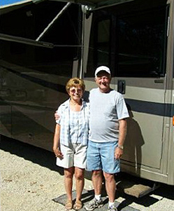 Al and Laraine Jennings at RV Décor