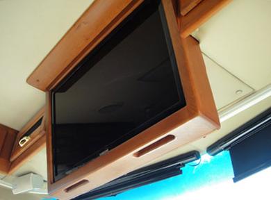 Mac Pherson-New flat screen TV-RV Décor