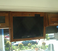 Coleman-New HDTV installation-RV Décor