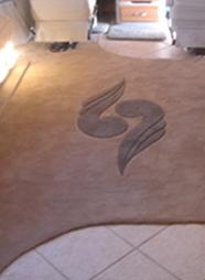 Romero-New carpet and inlay-RV Décor