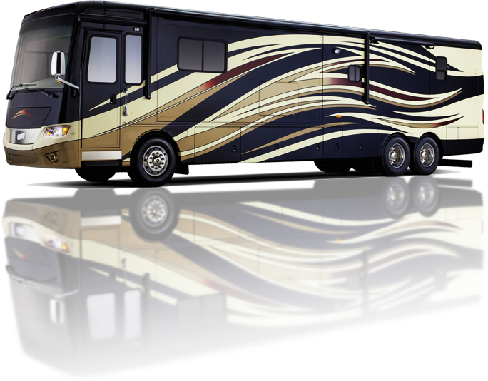 Gold & Black RV
